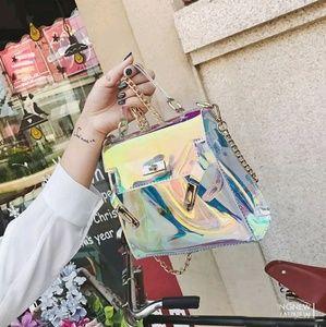 Clear Cotton Candy Handbag